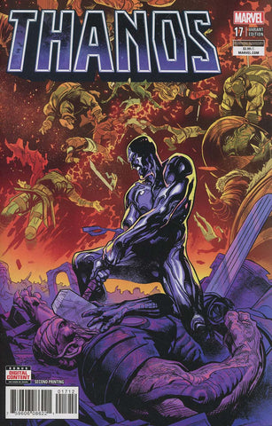 THANOS #17 2ND PRINT WARD VARIANT LEG