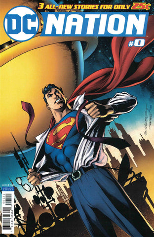 DC NATION #0 1:100 SUPERMAN VARIANT ED