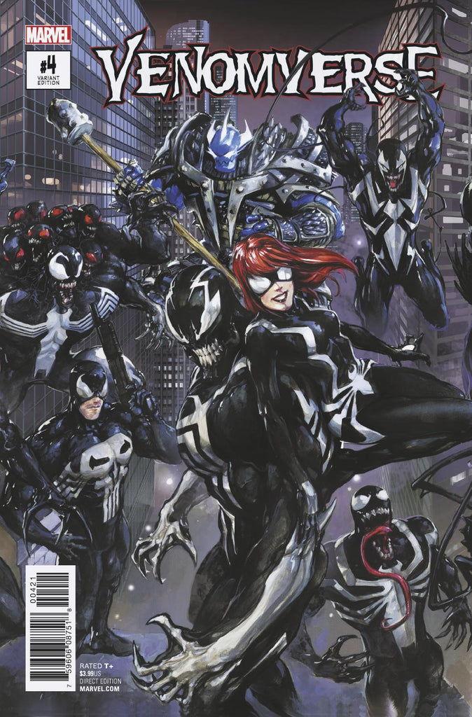 VENOMVERSE #4 CLAYTON CRAIN CONNECTING COVER
