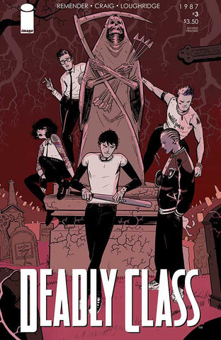 DEADLY CLASS #3 2ND PRINT VARIANT