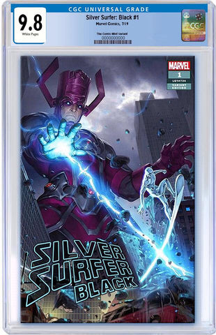 SILVER SURFER BLACK #1 JUNGGEUN YOON TRADE DRESS VARIANT LIMITED TO 3000 CGC 9.8 PREORDER