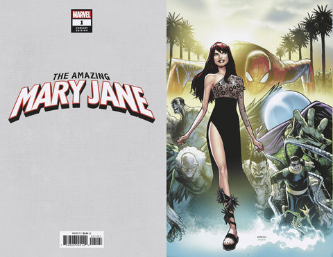 23/10/2019 AMAZING MARY JANE #1 1:200 RAMOS VIRGIN VARIANT