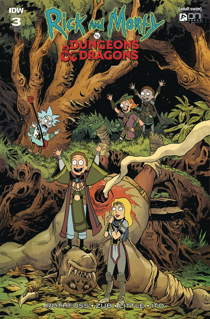 RICK & MORTY VS DUNGEONS & DRAGONS #3 (OF 4) 1:20 VARIANT