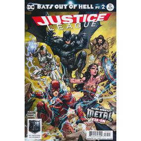 JUSTICE LEAGUE #32 VAR ED (METAL)