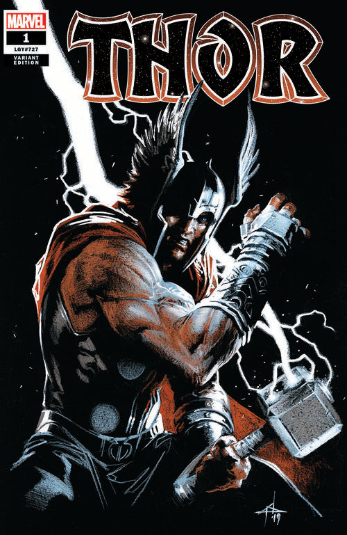 THOR #1 GABRIELE DELL'OTTO TRADE DRESS VARIANT LIMITED TO 2000 WITH NUMBERED COA