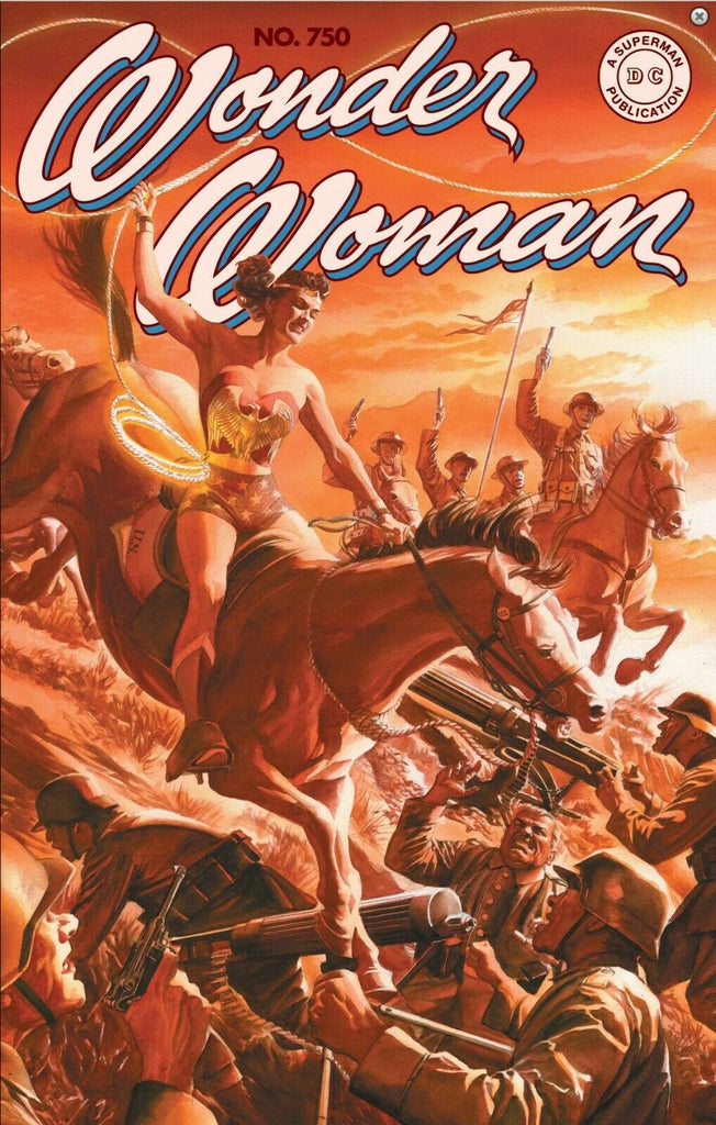 WONDER WOMAN #750 ALEX ROSS EXCLUSIVE HOMAGE VARIANT