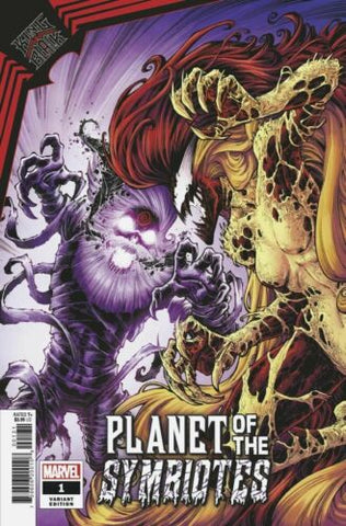KING IN BLACK PLANET OF SYMBIOTES #1 1:25 TODD NUACK 'SYMBIOTE CORTLAND' VARIANT
