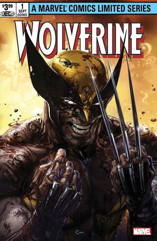 WOLVERINE CLAREMONT & MILLER #1 FACSIMILE EDITION CLAYTON CRAIN TRADE DRESS VARIANT LIMITED TO 3000