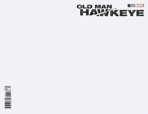 OLD MAN HAWKEYE #1 (OF 12) BLANK VAR LEG