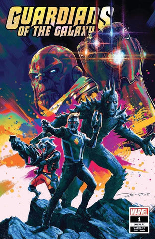GUARDIANS OF THE GALAXY #1 ALEKSI BRICLOT VARIANT LIMITED TO 3000