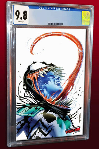 VENOM FIRST HOST #1 MIKE MAYHEW VARIANT NYCC VARIANT LIMITED TO 1000 CGC 9.8 PREORDER