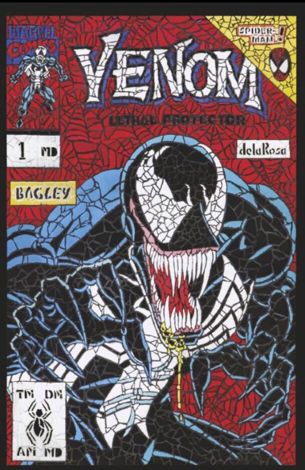VENOM FIRST HOST #1 VIRGIN EXCLUSIVE ~ 1ST APP TEL-KAR CLAYTON CRAIN ~ CGC 9.8
