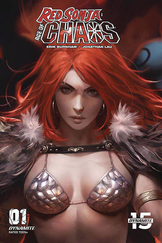 22/01/2020 RED SONJA AGE OF CHAOS #1 1:10 CHEW VARIANT
