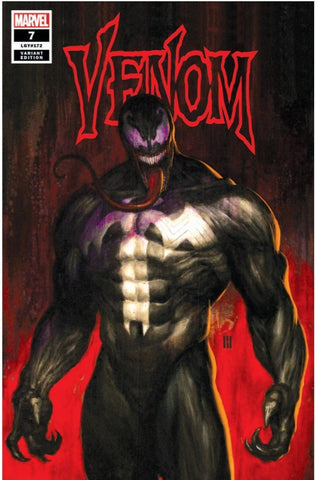 VENOM #7 MIKE CHOI TRADE DRESS VARIANT LIMITED TO 1000 WITH NUMBERED COA