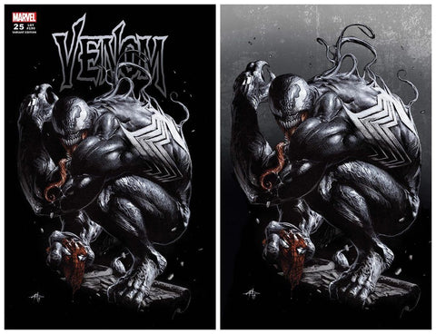 VENOM #25 GABRIELLE DELL'OTTO TRADE DRESS/VIRGIN VARIANT SET LIMITED TO 600 SETS WITH NUMBERED COA