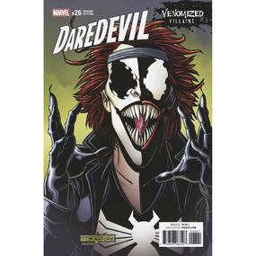 DAREDEVIL #26 VENOMIZED TYPHOID MARY VARIANT COVER BY TOM LYLE