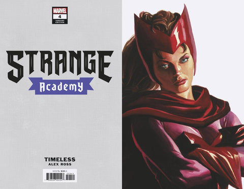 28/10/2020 STRANGE ACADEMY #4 ALEX ROSS SCARTLET WITCH TIMELESS VAR