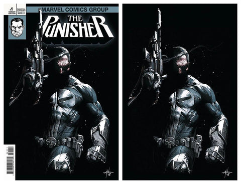 PUNISHER #1 GABRIELE DELL'OTTO TRADE/VIRGIN VARIANT SET LIMITED TO 400 SETS