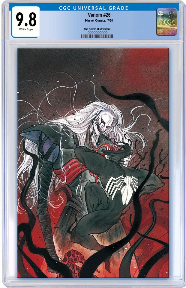 VENOM #26 PEACH MOMOKO KNULL VIRGIN VARIANT LIMITED TO 1000 CGC 9.8 PREORDER