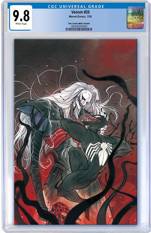 VENOM #26 PEACH MOMOKO KNULL VIRGIN VARIANT LIMITED TO 1000 CGC 9.8