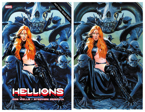 HELLIONS #2 MIKE MAYHEW TRADE DRESS/VIRGIN VARIANT LIMITED TO 1000
