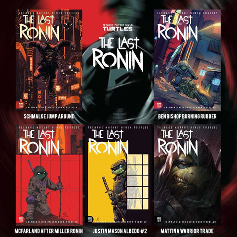 TMNT THE LAST RONIN #1 (OF 5) EXCLUSIVE 5 COVER BUNDLE