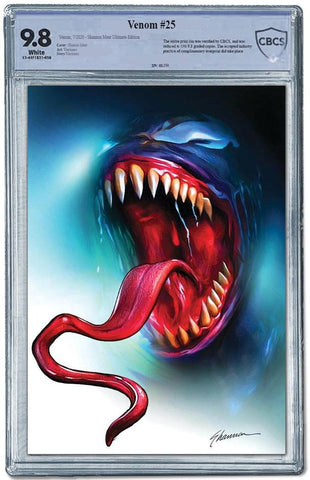 VENOM #25 SHANNON MAER ULTIMATE VARIANT LIMITED TO 150 CBCS 9.8