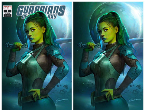GUARDIANS OF THE GALAXY #1 SHANNON MAER TRADE/VIRGIN VARIANT SET LIMITED TO 1000 SETS