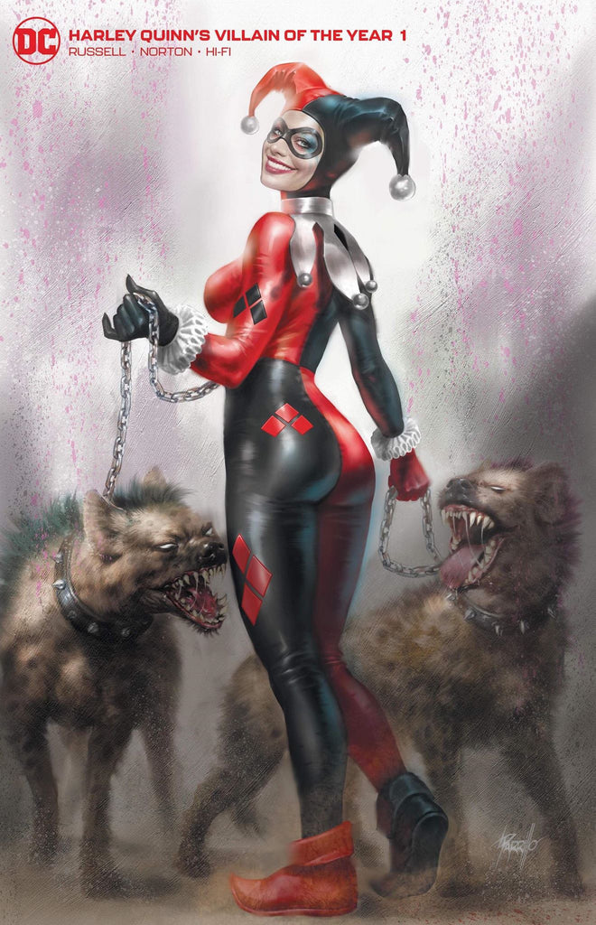 HARLEY QUINN VILLAIN OF THE YEAR #1 LUCIO PARRILLO CLASSIC HARLEY C2E2 VARIANT