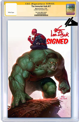 IMMORTAL HULK #17 IN HYUK LEE VIRGIN VARIANT LIMITED TO 600 CGC SS PREORDER