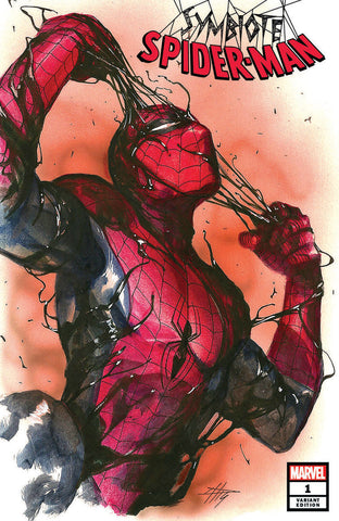 SYMBIOTE SPIDER-MAN #1 GABRIELE DELL'OTTO TRADE DRESS VARIANT LIMITED TO 1000 WITH NUMBERED COA