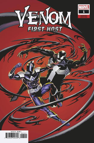 VENOM FIRST HOST #1 '1ST APP OF TEL-KAR' 1:50 CASSADAY VARIANT