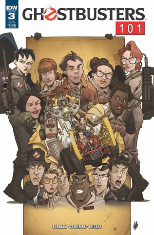 GHOSTBUSTERS 101 #3 SUBSCRIPTION VAR