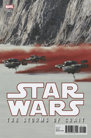 STAR WARS LAST JEDI STORMS OF CRAIT #1 MOVIE VAR