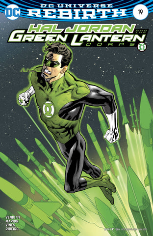HAL JORDAN AND THE GREEN LANTERN CORPS #19 VAR ED