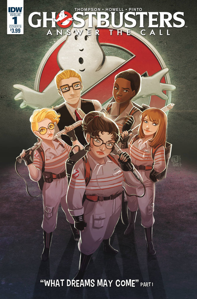 GHOSTBUSTERS ANSWER THE CALL #1 CVR B PINTO