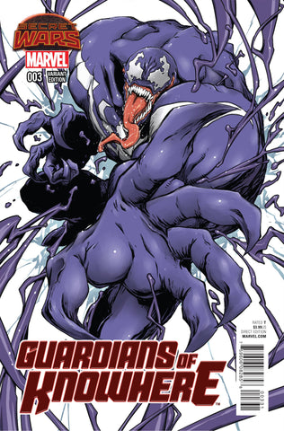 GUARDIANS OF KNOWHERE #3 NIGHTOW VENOM MANGA VAR SWA
