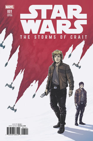 STAR WARS LAST JEDI STORMS OF CRAIT #1 ARTIST VAR