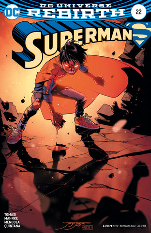 SUPERMAN #22 VAR ED