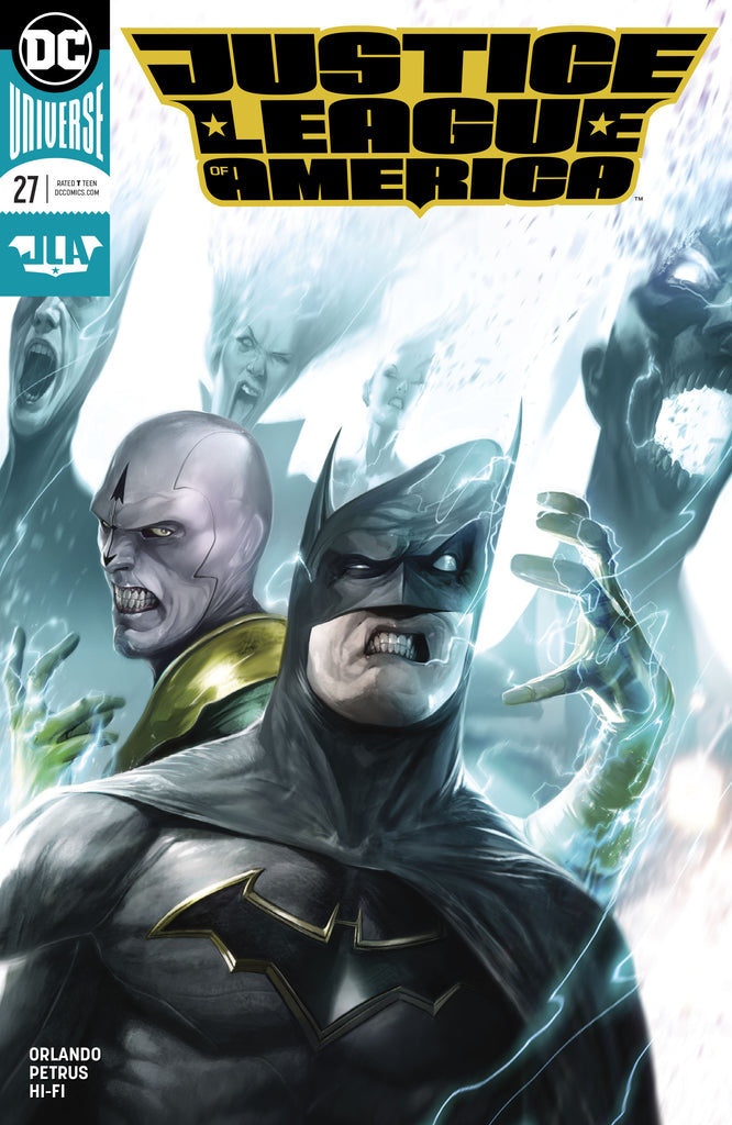 JUSTICE LEAGUE OF AMERICA #27 MATTINA VAR ED