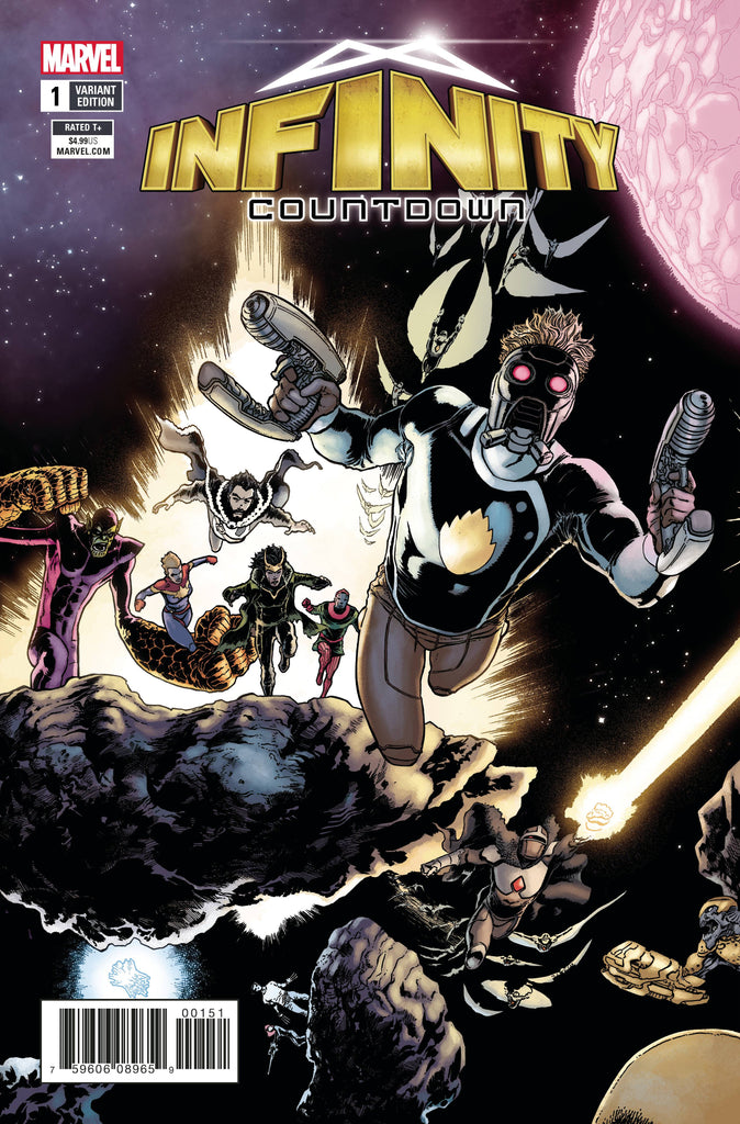 INFINITY COUNTDOWN #1 (OF 5) KUDER CONNECTING VAR LEG