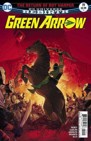 GREEN ARROW #19