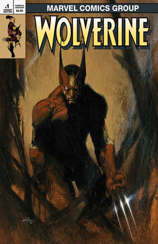 WOLVERINE INFINITY WATCH #1 (OF 5) GABRIELE DELL'OTTO VARIANT LIMITED TO 600 COPIES WITH NUMBERED COA