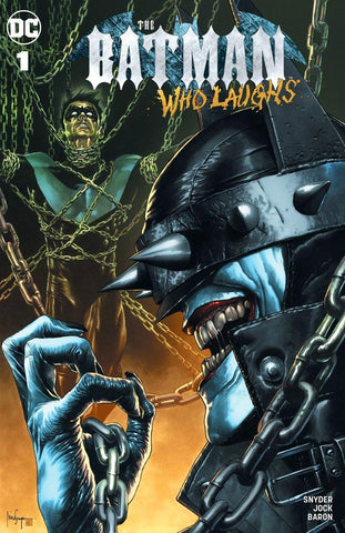 BATMAN WHO LAUGHS #1 MICO SUAYAN TRADE DRESS VARIANT
