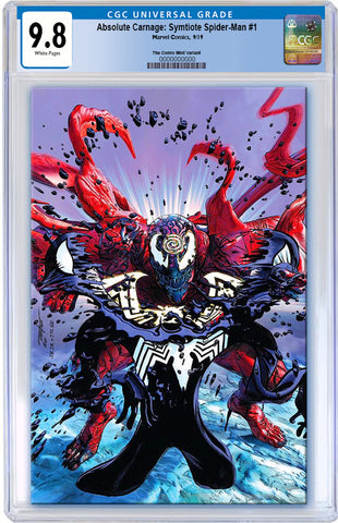 ABSOLUTE CARNAGE SYMBIOTE SPIDER-MAN #1 MIKE MAYHEW ASM #238 HOMAGE VIRGIN VARIANT LIMITED TO 600 CGC 9.8 PREORDER