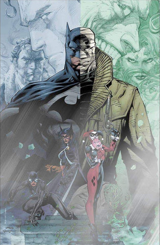 BATMAN #608 (HUSH RRP COVER) FAN EXPO DALLAS FOIL JIM LEE VIRGIN VARIANT