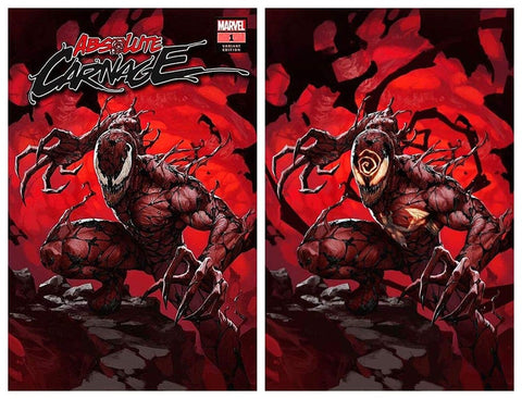 ABSOLUTE CARNAGE #1 SKAN SRISUWAN TRADE DRESS/VIRGIN SET LIMITED TO 600 SETS