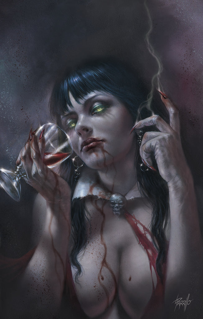 VAMPIRELLA REANIMATOR #1 LUCIO PARRILLO VIRGIN VARIANT LIMITED TO 500