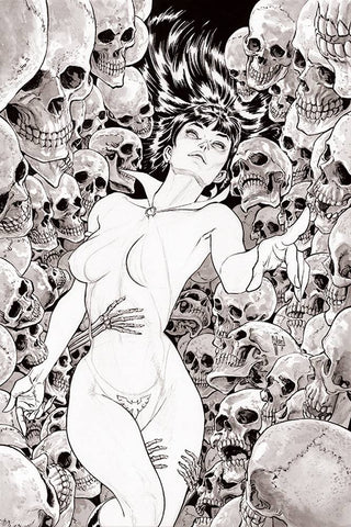 18/09/2019 VAMPIRELLA #3 1:11 GUILLEM MARCH B&W VARIANT