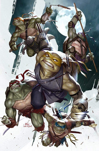 TMNT ONGOING #100 INHYUK LEE VIRGIN VARIANT LIMITED TO 500 COPIES